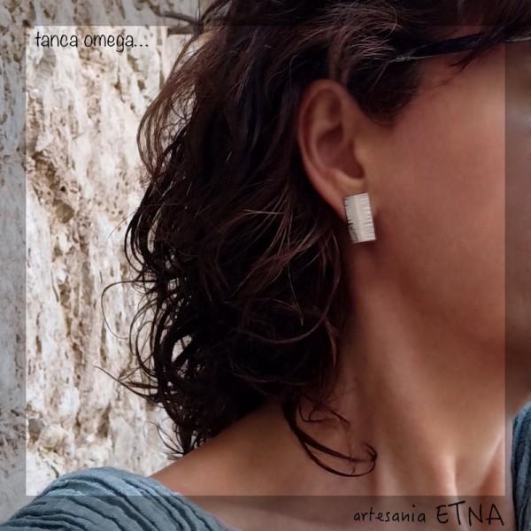 Katia Line omega back earrings.