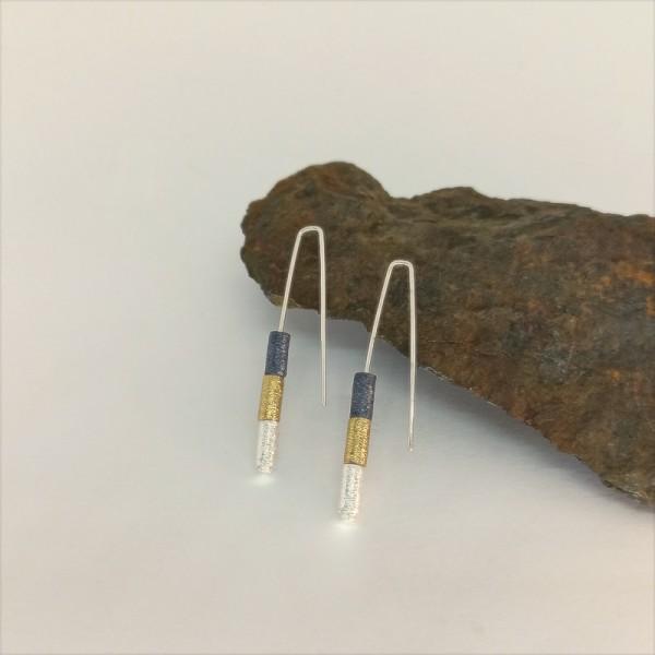Earrings Katia Cilindre