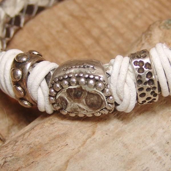 Leather bracelet Mery Wild