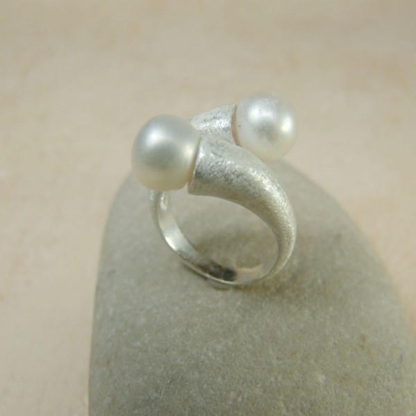 Silver Ring Alba Danna