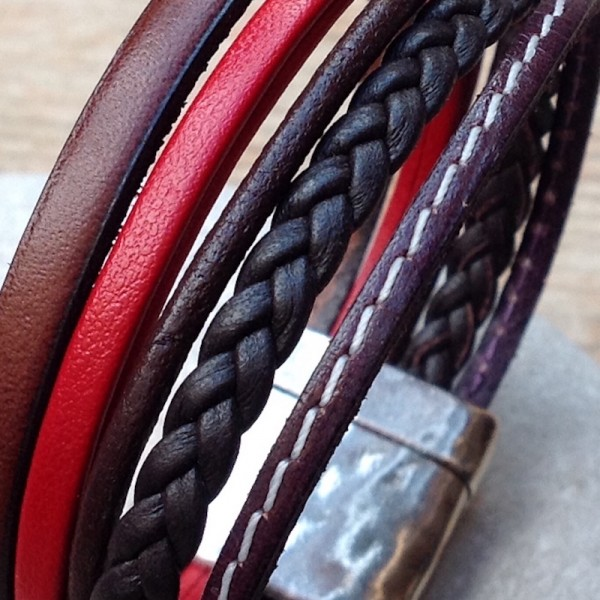 Leather Bracelet Mery Fox