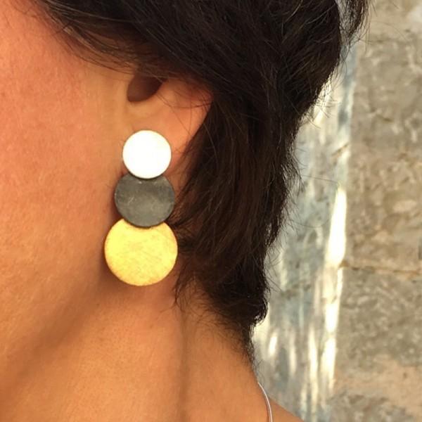 Earrings Katia Three