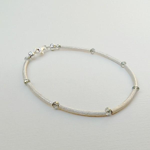 Silver and swarovski bracelet  JULIETTA SW