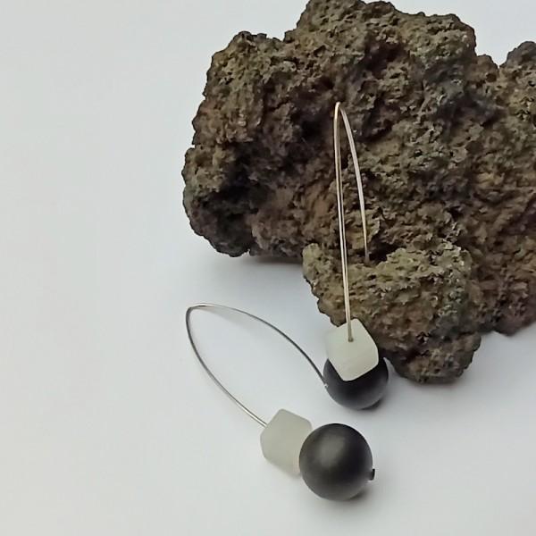Gem Onix earrings