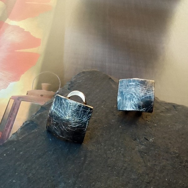 Katia Grace omega back earrings.