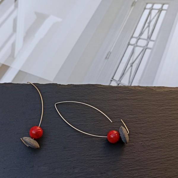 Gem Bambu earrings